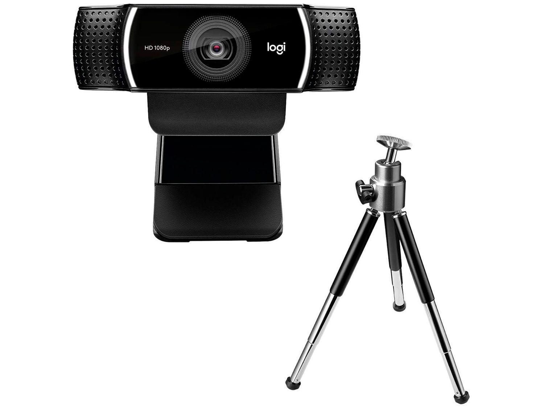 Webcam Full HD Logitech Pro Stream C922 - com Microfone