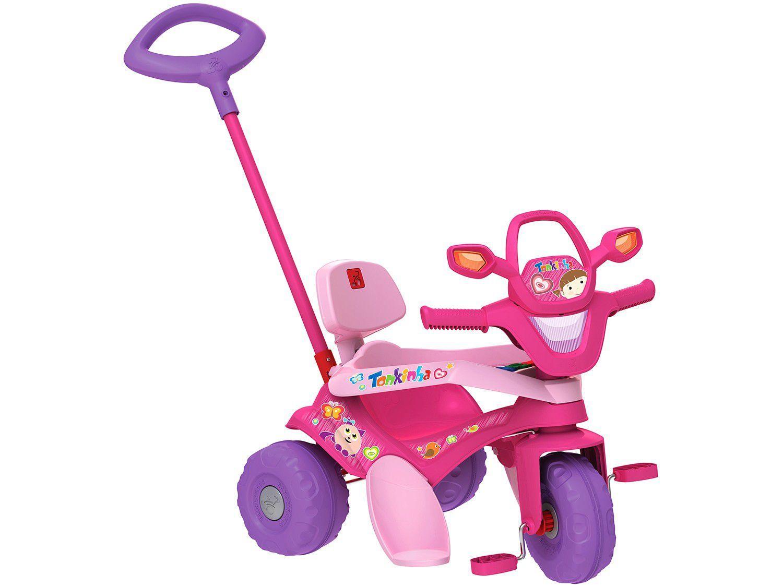 Triciclo Infantil Tonkinha com Empurrador - Bandeirante