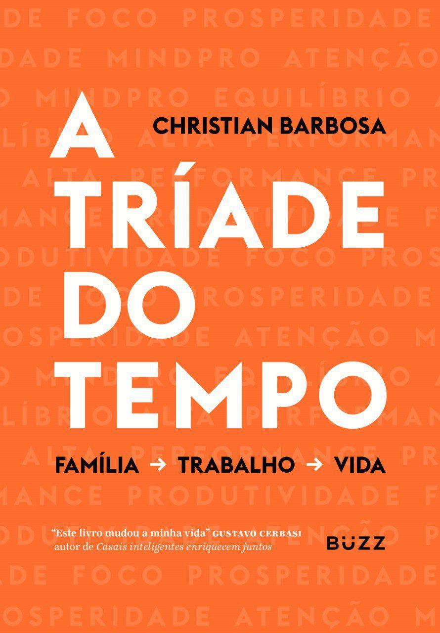 Livro A tríade do tempo Volume 1 - Christian Barbosa