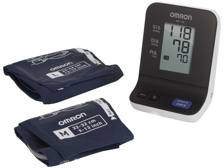 Medidor de Pressão Arterial Digital Automático - de Braço Omron HBP 1100