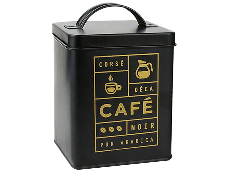 Porta Mantimentos Retangular 500g Le Petite - para Café