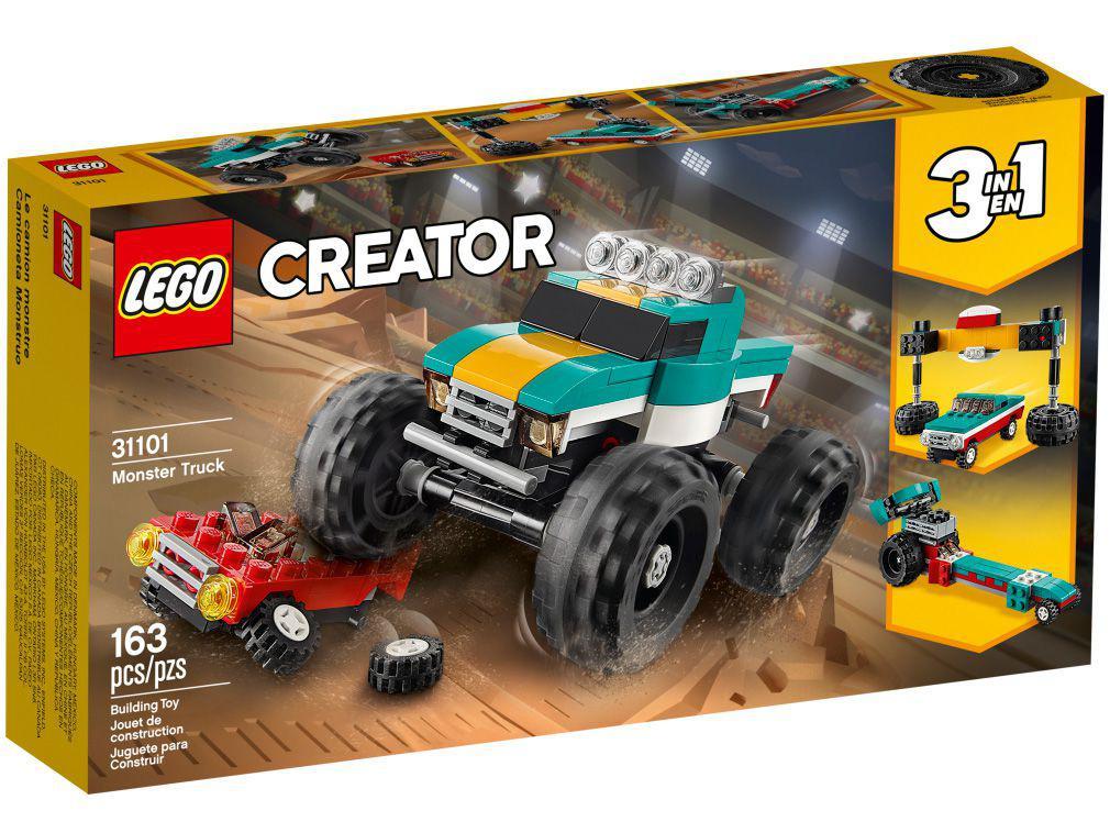 LEGO Monster Truck Creator Caminhão Gigante - 163 Peças 31101