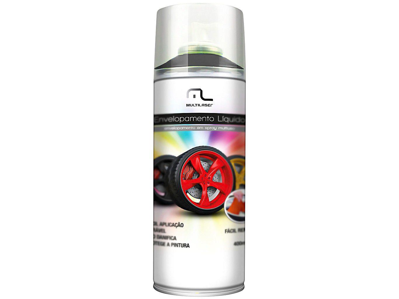 Spray Envelopamento Multilaser AU420 Preto Fosco - 400ml