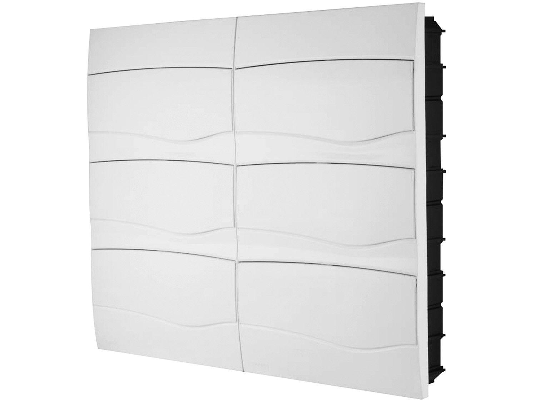 Quadro de Distribuição 72 DIN 48 NEMA Tramontina - Embutir Branco