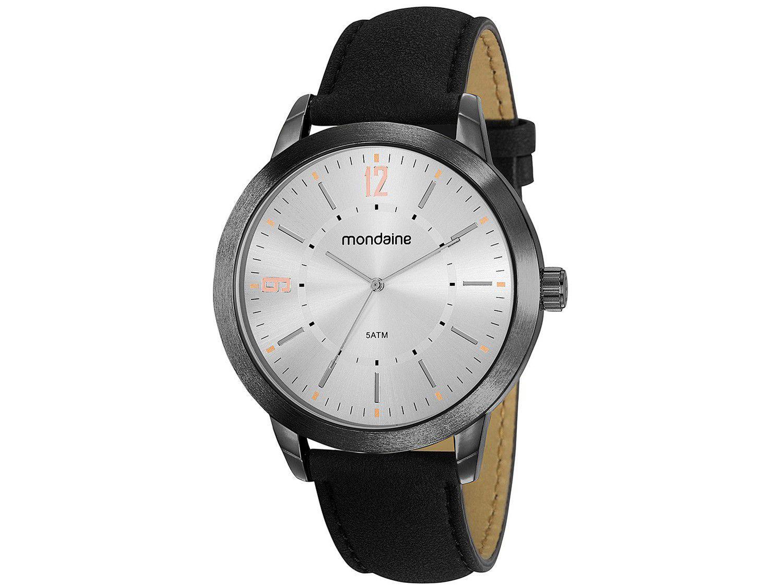 Relógio Masculino Mondaine Analógico - 53809GPMGPH6 Preto