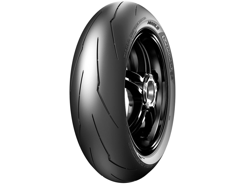 "Pneu de Moto Aro 17"" Pirelli Traseiro 190/55 75W - Racing Street Diablo Supercorsa SP"