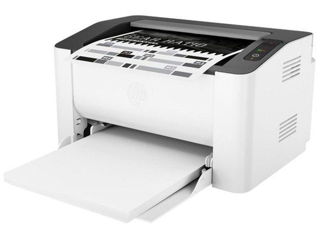 Impressora HP Laser 107A Preto e Branco - USB