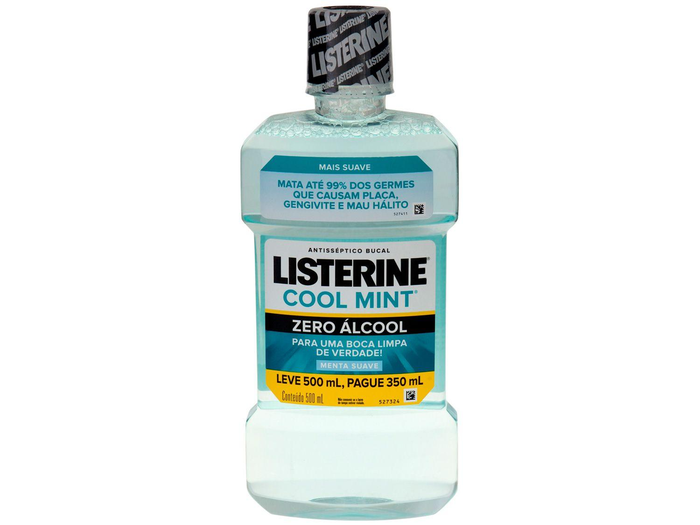 Antisséptico Bucal Listerine Zero 500ml