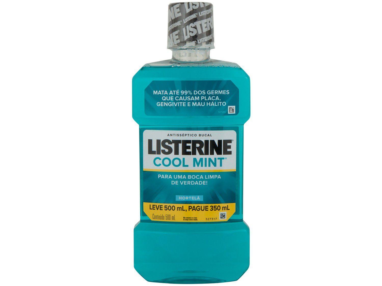 Antisséptico Bucal Listerine Cool Mint - 500ml