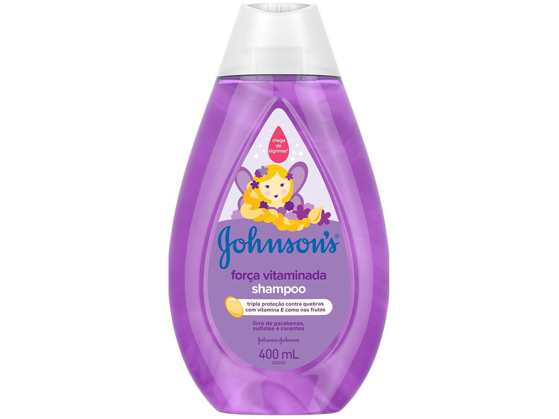 Shampoo Infantil Johnson?s Baby Iconic Classics - Força Vitaminada 400ml