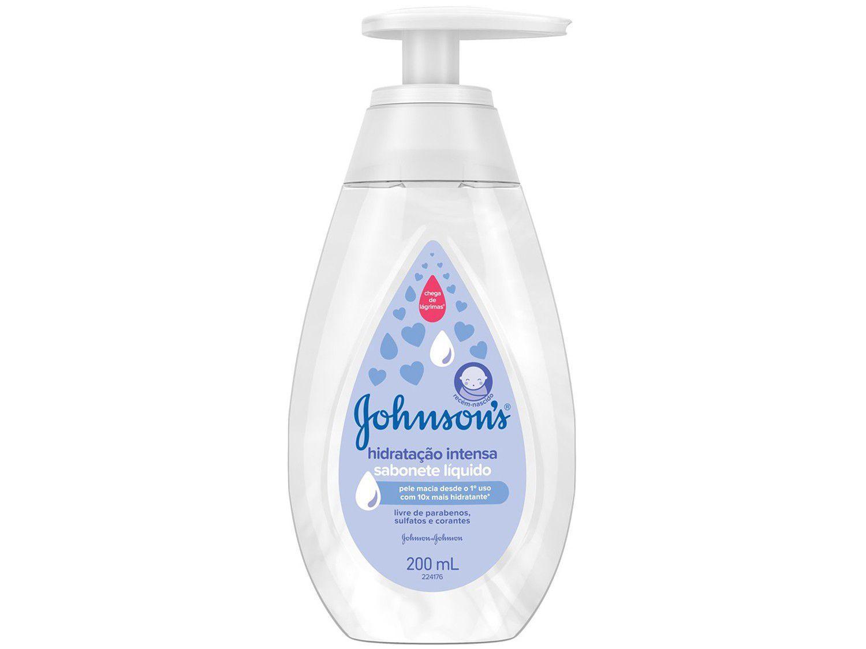 Sabonete Líquido Infantil Johnsons Baby - Hidratação Intensa 200ml