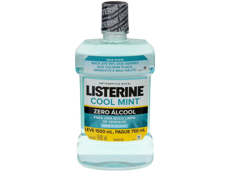 Antisséptico Bucal Listerine Sem Álcool Cool Mint - 1,5L
