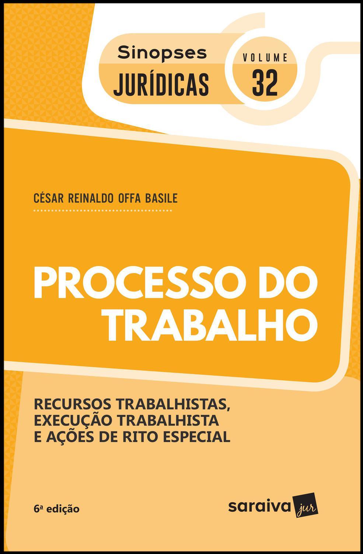 Processo do trabalho - 6ª edição de 2019