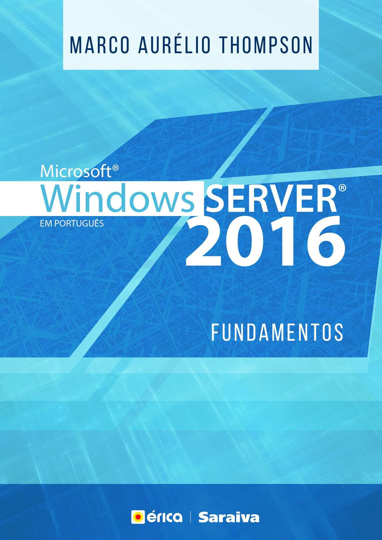 Windows Server 2016 - Fundamentos