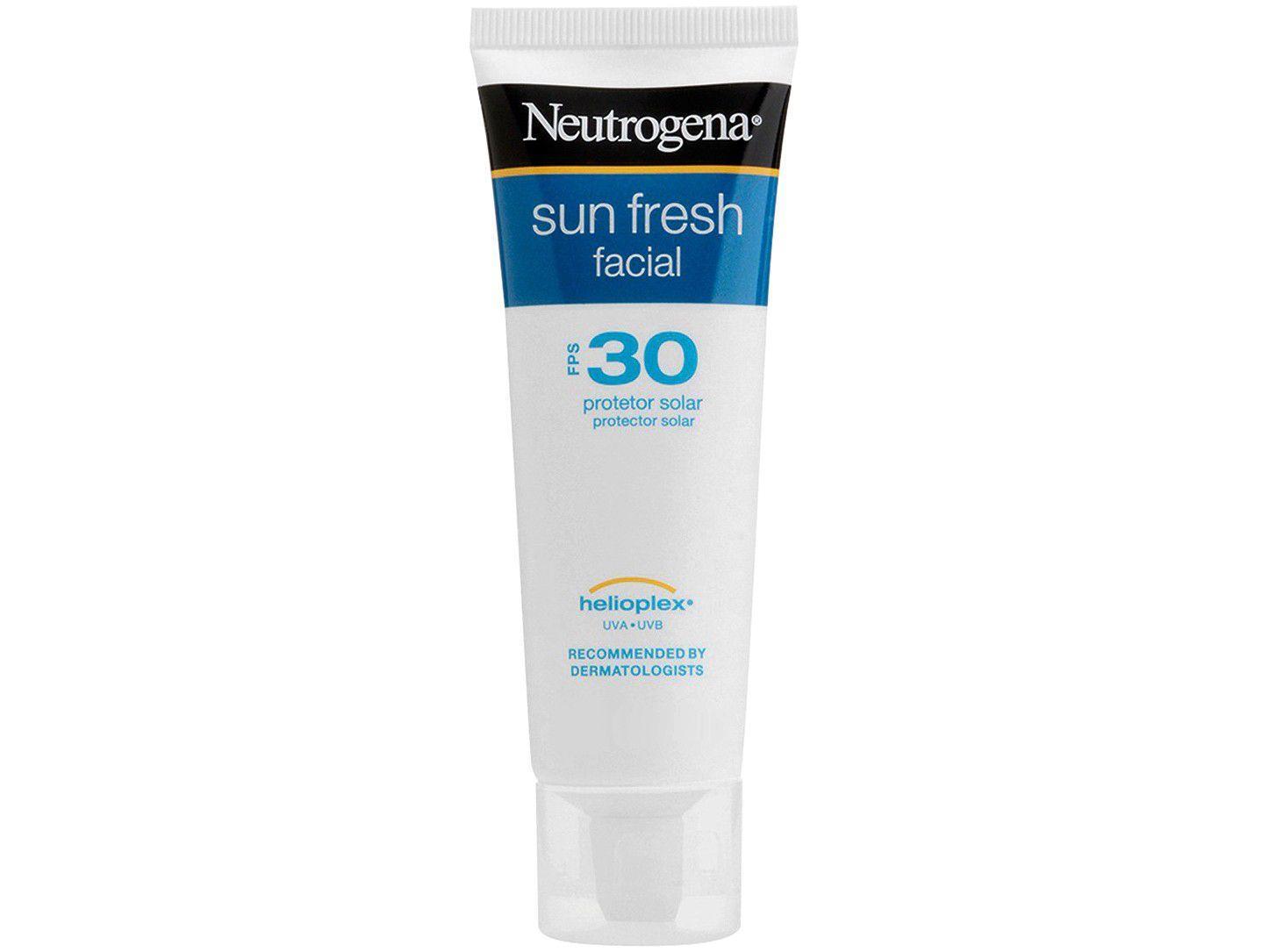 Protetor Solar Facial Neutrogena FPS 30 - Sun Fresh Facial 50ml