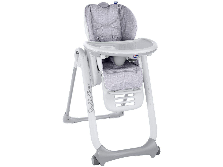 Cadeira de Alimentação Chicco Polly2Start - 8 Posições de Altura 0 a 15kg