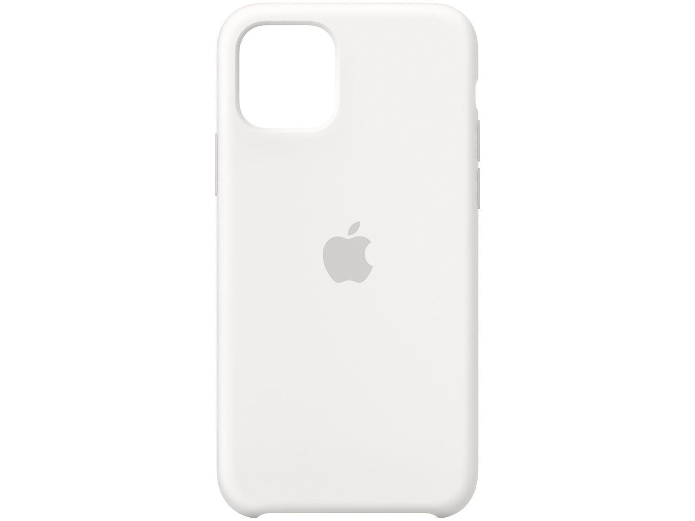 Capa de Silicone Branca para iPhone 11 Pro - Original