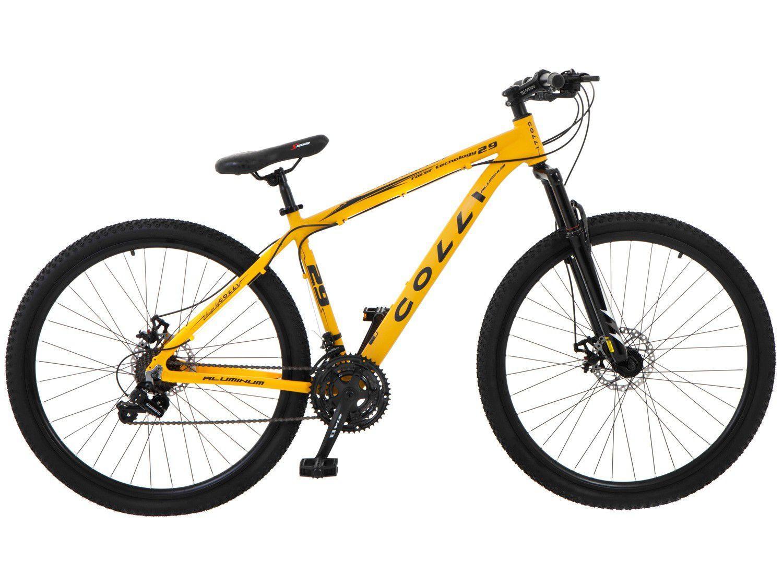 Bicicleta Aro 29 Mountain Bike Colli 531.02 - Freio a Disco 21 Marchas Câmbio Shimano