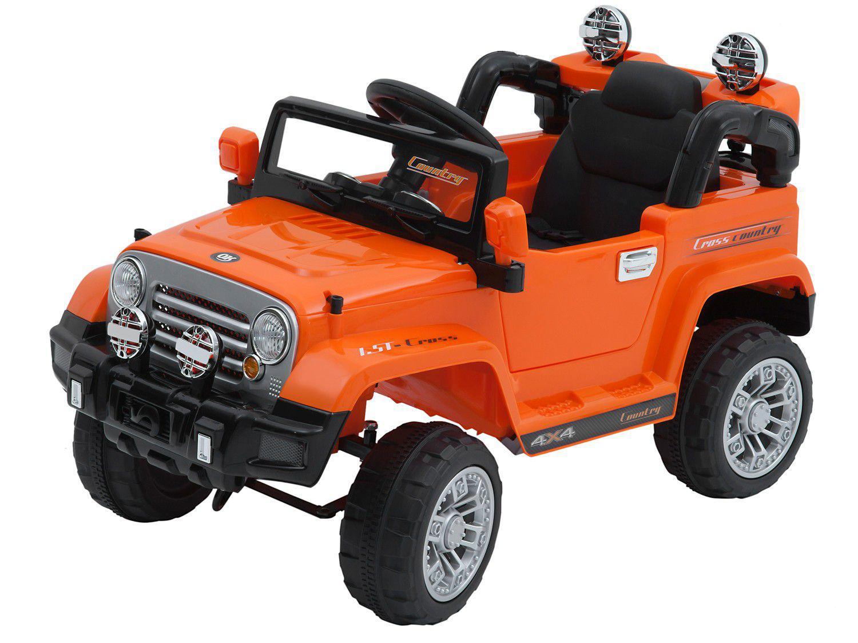 Jipe Elétrico Infantil Bel Brink Trilha - com Controle Remoto 2 Marchas 12V Bel Fix