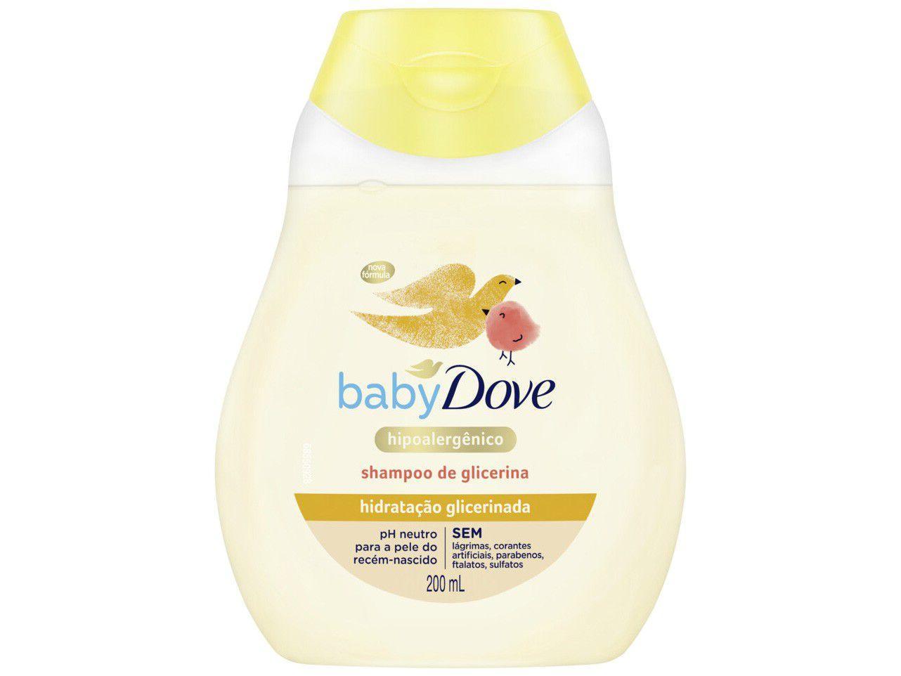 Shampoo Infantil Dove Baby - Hidratação Glicerinada 200ml