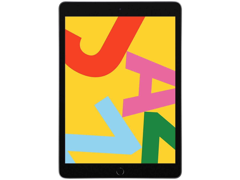 "iPad 10,2"" 7ª Geração Apple Wi-Fi + Cellular 32GB - Cinza Espacial"