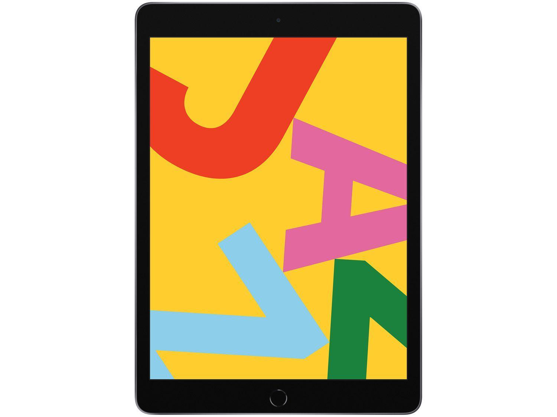 "iPad 10,2"" 7ª Geração Apple Wi-Fi + Cellular 128GB - Cinza Espacial"