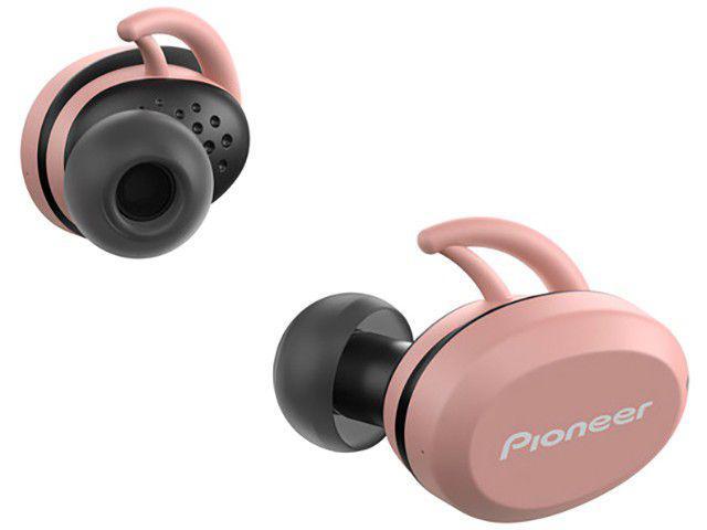 Fone de Ouvido Bluetooth Pioneer SE-E8TW-P - Intra-auricular com Microfone Resistente à Água