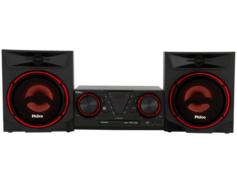 Mini System Philco Bluetooth 500W CD Player USB - PHS500BT