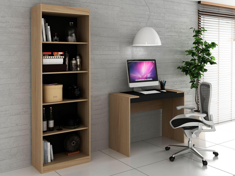 Conjunto Escritório Hecol Móveis Home Office - HO-2951 2 Peças