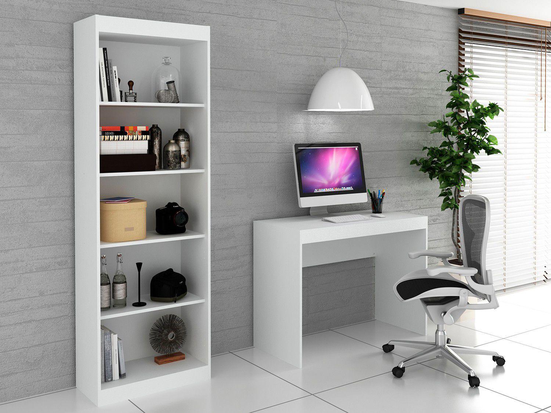 Conjunto Escritório Hecol Móveis - Home Office HO-2951 2 Peças