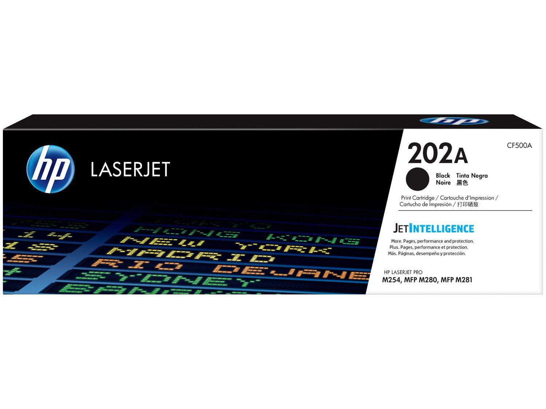 Toner HP LaserJet 202A Preto - Original