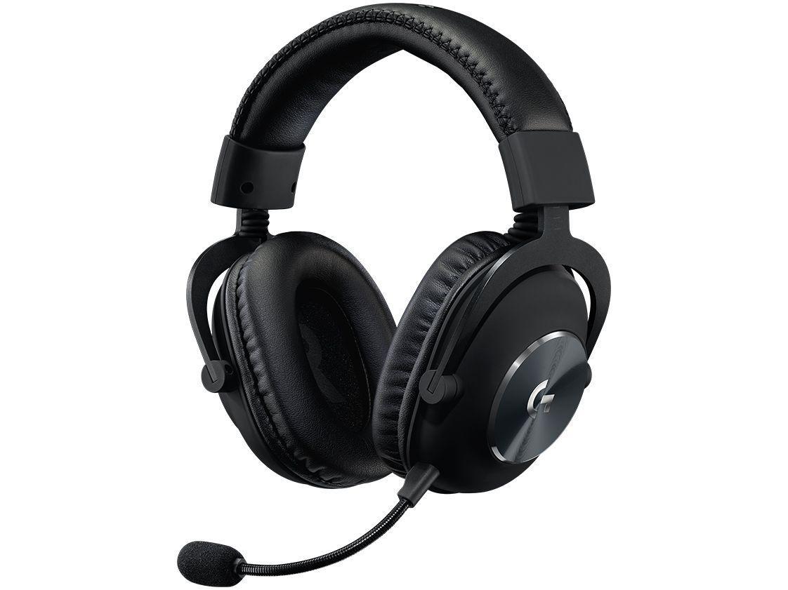 Headset Gamer Logitech Pro PC USB Preto