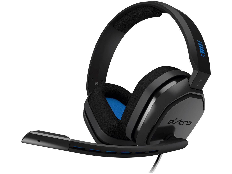 Headset Gamer Astro A10 - para PS4 Nintendo Switch PC e MAC