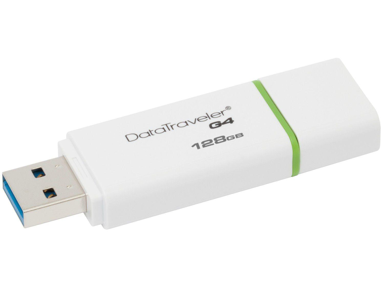 Pen Drive 128GB Kingston Data Traveler G4 - USB 3.0