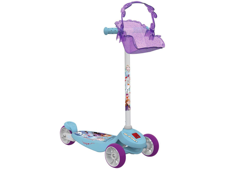 Patinete 3 Rodas Frozen Skatenet 3096 - Bandeirante