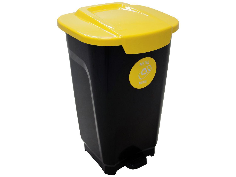 Lixeira de Reciclagem para Metal com Pedal 50L - Tramontina Empresarial T-Force
