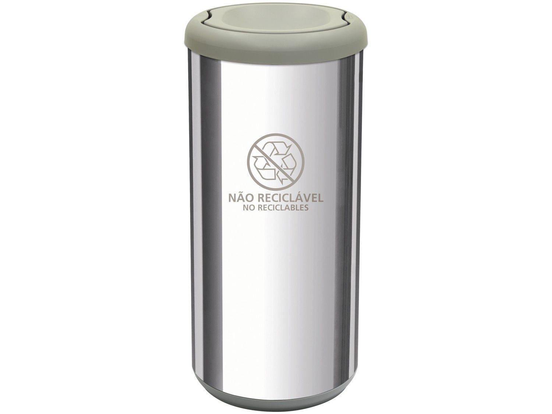 Lixeira Reciclável Inox 40L - Tramontina Cápsula Selecta Plus