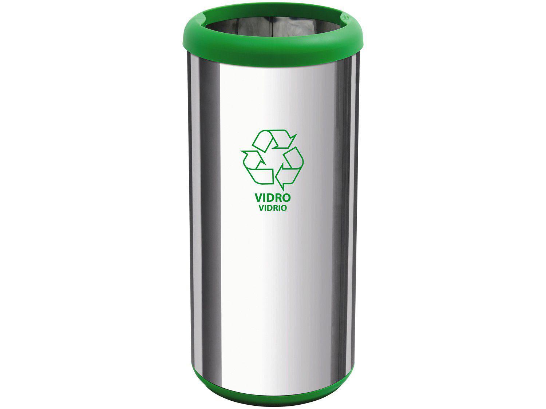 Lixeira Reciclável Inox 40L - Tramontina 94539225
