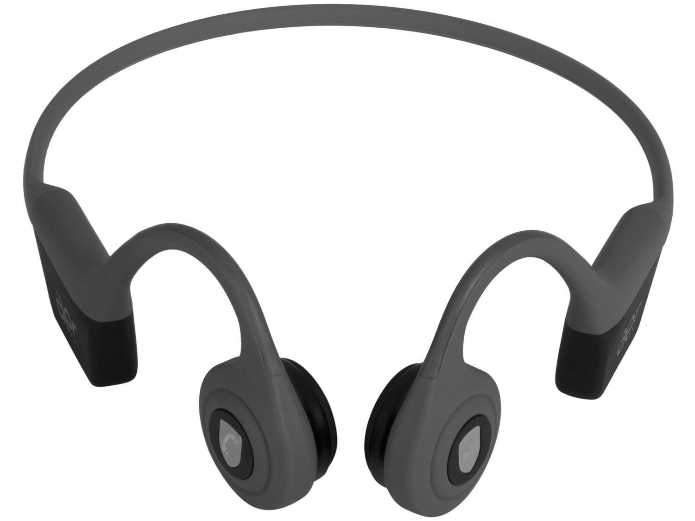 Fone de Ouvido Bluetooth Geonav AerBone AER09GR - com Microfone Resistente à Água Cinza