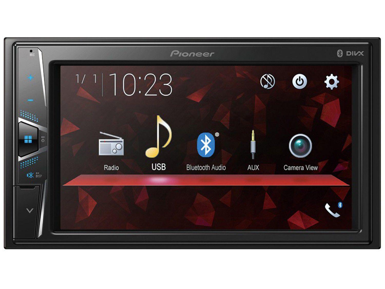 """Central Multimídia Pioneer DMH-G228BT Bluetooth - Touch 6,2"""" USB Auxiliar Câmera de Ré"""