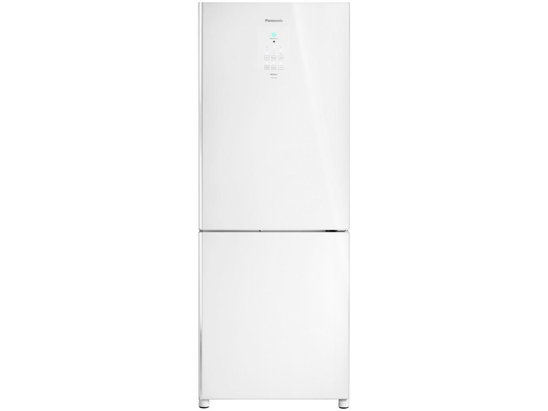 Geladeira/Refrigerador Panasonic Frost Free Duplex - Branco 425L Glass NR-BB53GV3WA