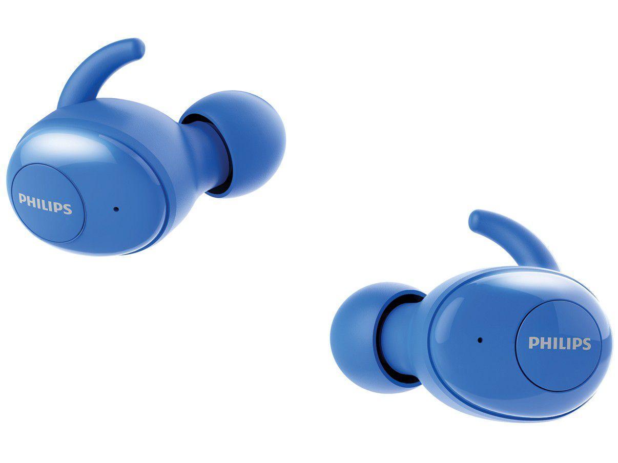 Fone de Ouvido Bluetooth Philips Upbeat - SHB2505BL/00 Intra-auricular com Microfone Azul