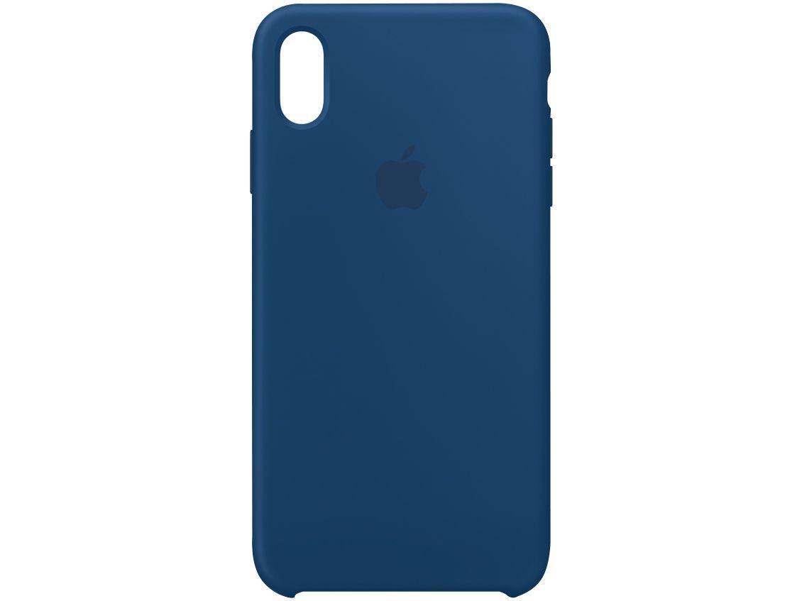 Capinha de Celular Silicone para iPhone XS Max - Apple MTFE2ZM/A Original