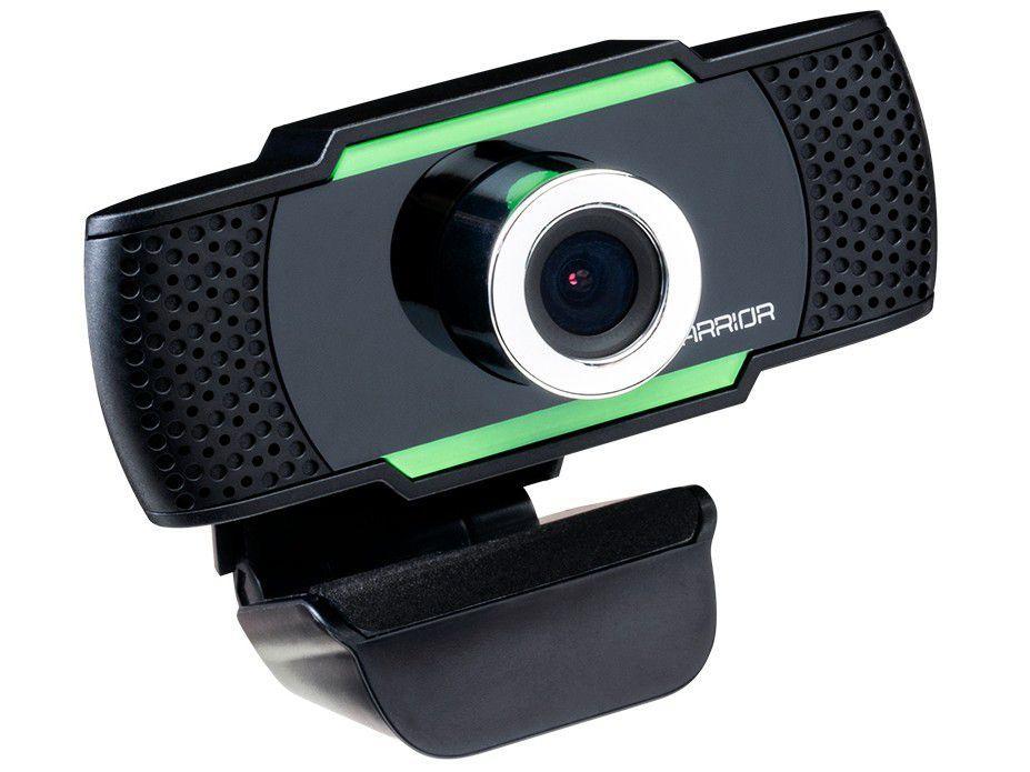 Webcam HD Warrior Maeve 2MP - com Microfone