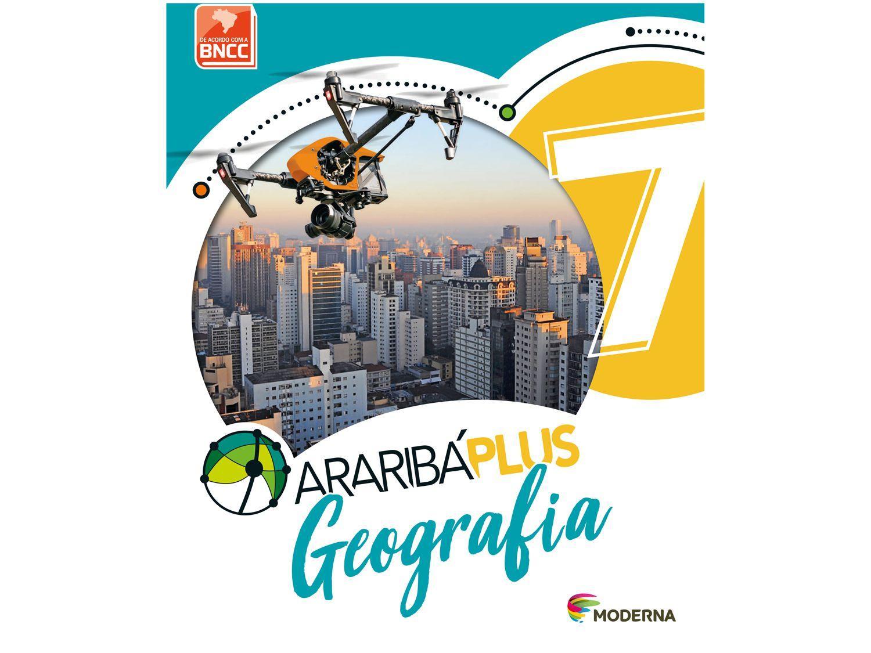 Livro Araribá Plus Geografia 7º Ano - Obra Coletiva