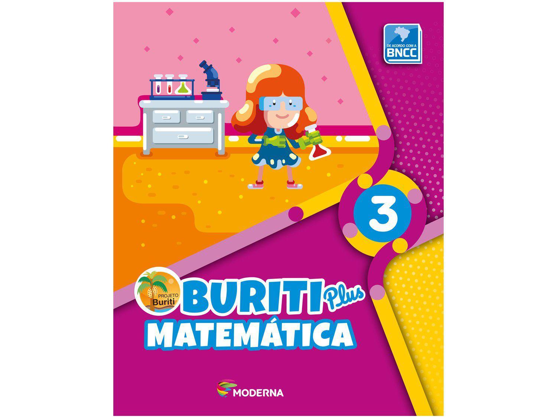 Livro Buriti Plus Matemática 3º Ano - Obra Coletiva
