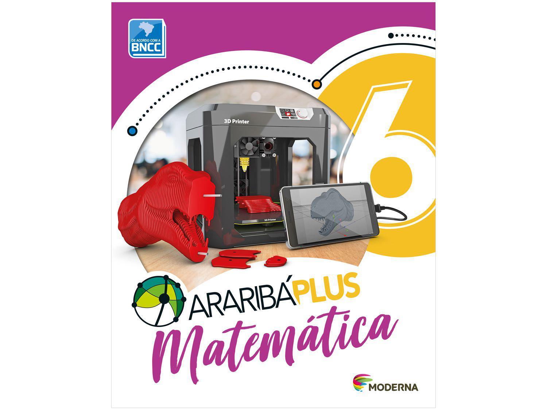 Livro Araribá Plus Matemática 6º Ano - Obra Coletiva