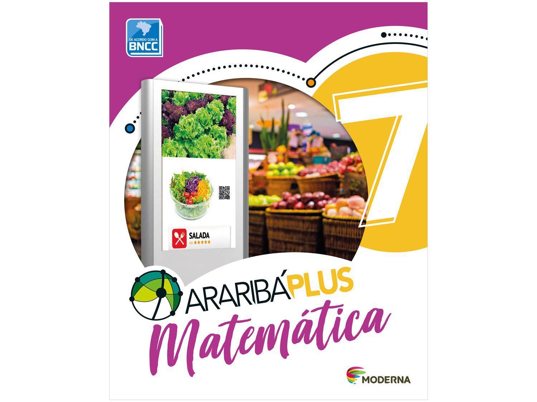 Livro Araribá Plus Matemática 7º Ano - Obra Coletiva