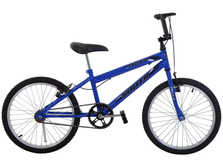 Bicicleta Infantil Aro 20 South Bike Roxx Azul - Freio V-Brake