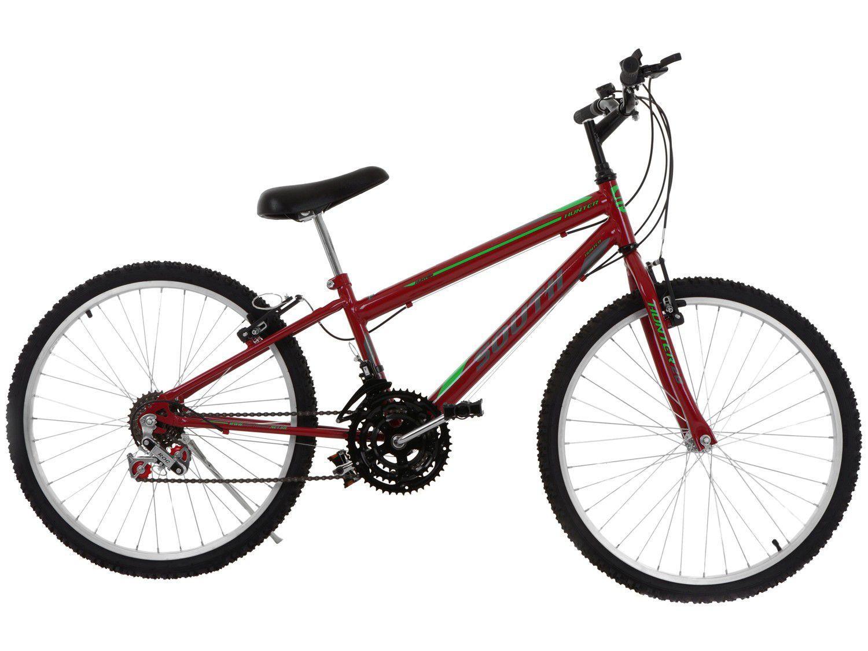 Bicicleta Aro 24 South Bike Hunter Freio V-Brake - 18 Marchas